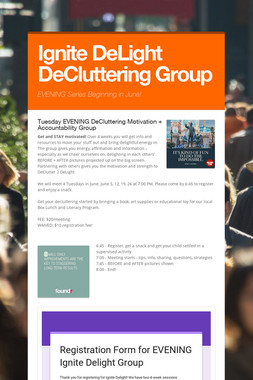 Ignite DeLight DeCluttering Group