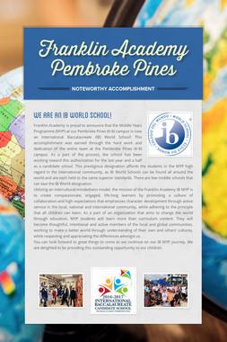 Franklin Academy Pembroke Pines
