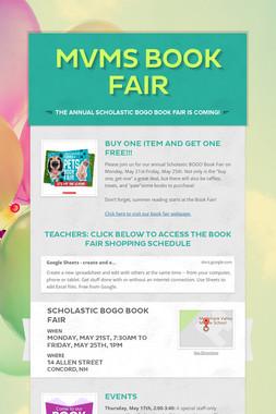 MVMS Book Fair