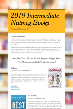 2019 Intermediate Nutmeg Books