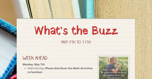 What's the Buzz | Smore Newsletters