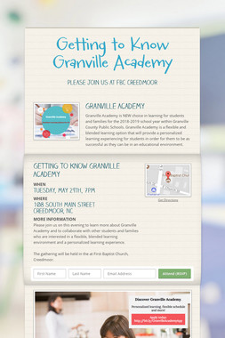 Getting to Know Granville Academy