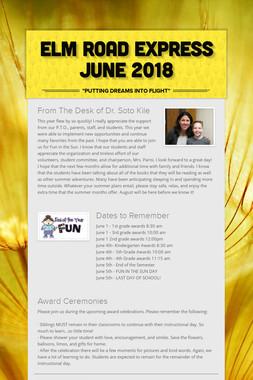 Elm Road Express June 2018