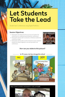 Let Students Take the Lead