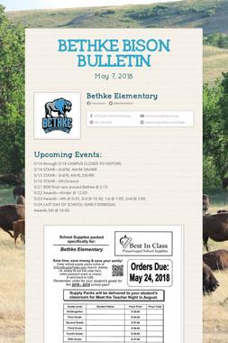 BETHKE BISON BULLETIN