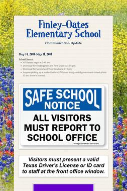 Finley-Oates Elementary School