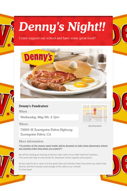 Denny's Night!!