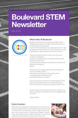 Boulevard STEM Newsletter
