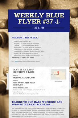 Weekly Blue Flyer #37   ⚓️