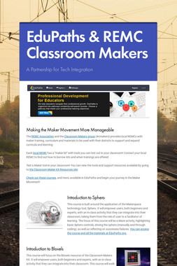 EduPaths & REMC Classroom Makers