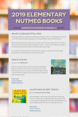 2019 Elementary Nutmeg Books