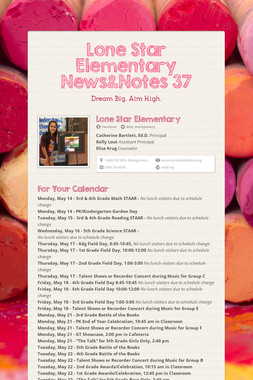 Lone Star Elementary News&Notes 37