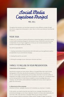 Social Media Capstone Project
