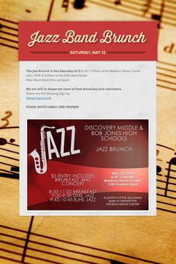 Jazz Band Brunch