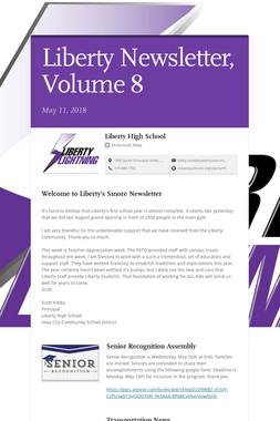 Liberty Newsletter, Volume 8