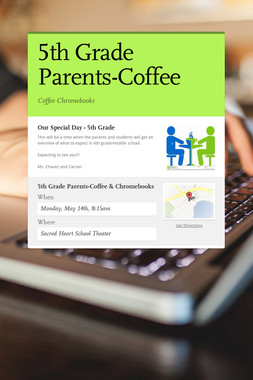 5th Grade Parents-Coffee