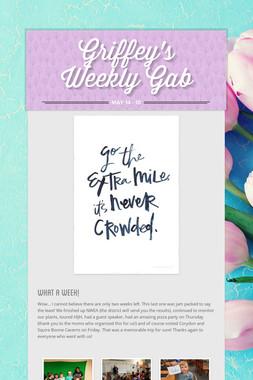 Griffey's Weekly Gab