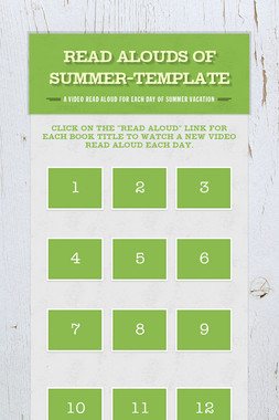 Read Alouds of Summer-Template