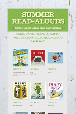 Summer Read-Alouds