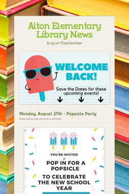 Alton Elementary Library News