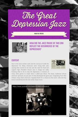 The Great Depression Jazz