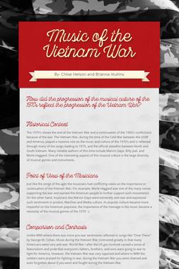 Music of the Vietnam War