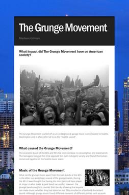 The Grunge Movement