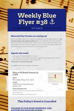 Weekly Blue Flyer #38   ⚓️