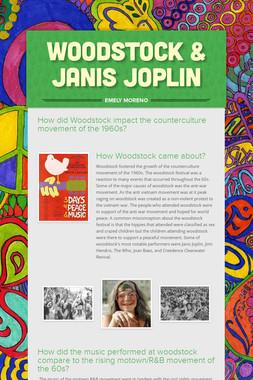 WOODSTOCK & JANIS JOPLIN