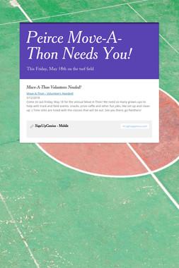 Peirce Move-A-Thon Needs You!