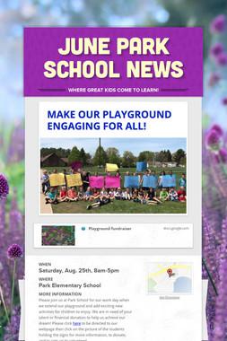June Park School News