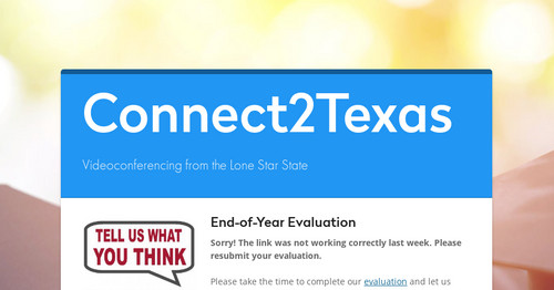 Connect2texas Smore Newsletters