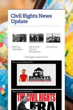 Civil Rights News Update