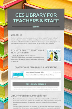 CES Library for Teachers & Staff
