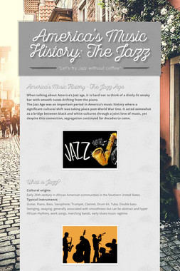 America's Music History: The Jazz