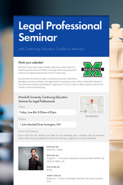 Legal Professional Seminar