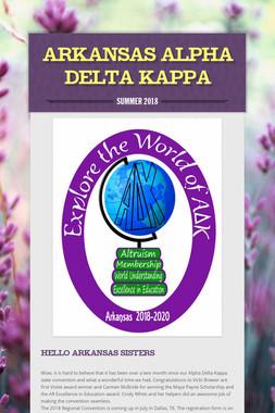 Arkansas Alpha Delta Kappa