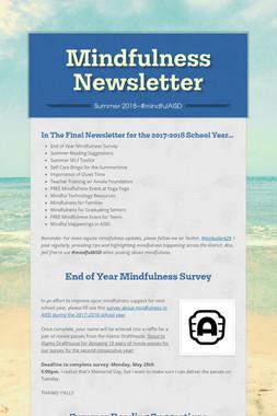 Mindfulness Newsletter