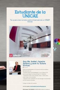 Estudiante de la UNICAE