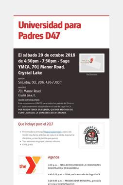 Universidad para Padres D47