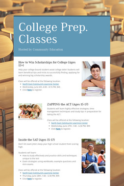 College Prep. Classes