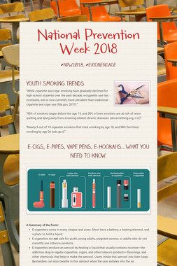 National Prevention Week 2018