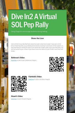 Dive In2 A Virtual SOL Pep Rally