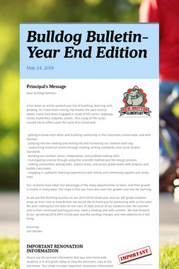 Bulldog Bulletin-Year End Edition