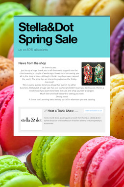Stella&Dot Spring Sale