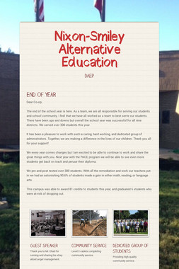 Nixon-Smiley Alternative Education