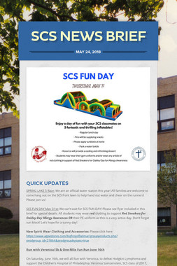 SCS News Brief