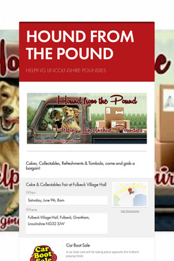 HOUND FROM THE POUND