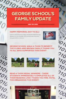 George School's Family Update
