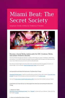 Miami Beat: The Secret Society